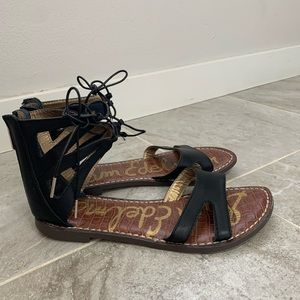 Sam Edelman Gwenna Gladiator Lace up Sandals 6.5